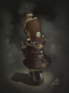 Cool Steampunk Inspired Robot Fantasy Art — GeekTyrant