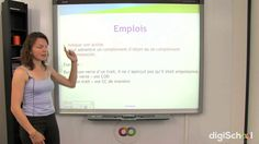Cours de français sur la conjugaison et les emplois du participe présent