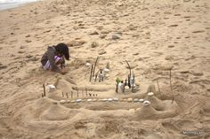 Sand Garden and City