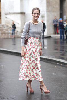 Sofia Sanchez at Paris fashion week Haute Couture