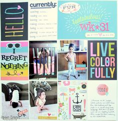 Fantabulous! Pocket Pages using the Carpe Diem Collection from Simple Stories
