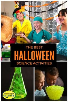 Release your mad scientist to create the best Halloween party ever!
