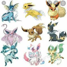 Pokemon Mew, Pokemon Eevee Evolutions, Pikachu, Pokemon Fan Art, Pokemon Mega Evolution, Images Kawaii, Pokemon Pictures, Digimon, Chibi