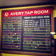 Home Instagram - Avery Brewing Company