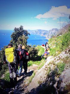#trekking e #escursione guidata sul #sentierideglidei #sentiero da #agerola a #positano #italia