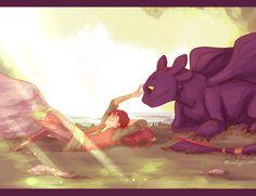 that friendship.. by *viria13 on deviantART. so cute!!