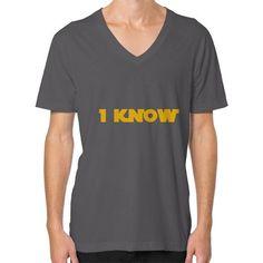 I-Know V-Neck (on man) Shirt