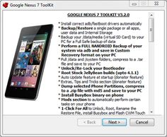 All In One toolkit For Nexus 7 - Root, backup, restore, custom recovery, custom firmware, nandroid backup and much more