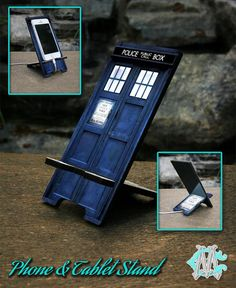 Free Shipping Dr Who Tardis Police Call Box Phone by CustomizeMeAz