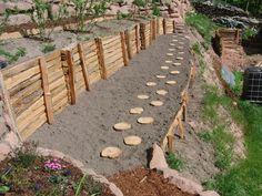 Die 26 Besten Bilder Von Hangbefestigung Back Garden Ideas