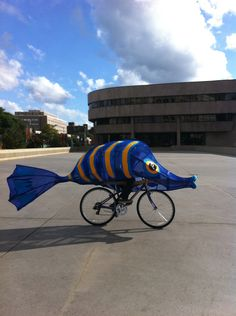 Art bicycle on pinterest bicycles bike parade and bikes for Flying fish bikes