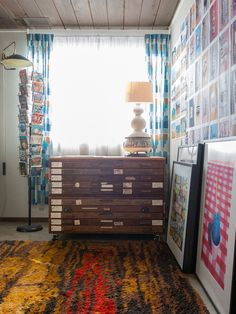 I dream of just such a flat file to hold my crazy collection of ephemera!