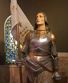 Stunning Joan of Arc from the Museum of Divine Statues.