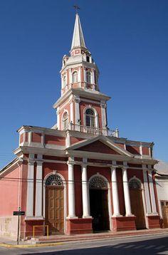 Church in Vicuña, Chile..