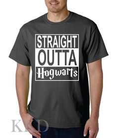 Straight Outta Hogwarts by KKDcustomized on Etsy