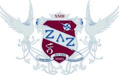 logo (armoiries) pour la sororité ZLZ (Zeta Lambda Zeta) à Nantes
