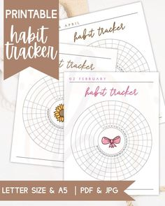 Track your habits efficiently with this printable monthly habit tracker. This circle tracker is perfect for bullet journals and planners. This comes in two sizes in US Letter and A5. Plus each month comes with a unique aesthetic theme! #tracker #printable #planner December Bullet Journal, Bullet Journal Tracker, Bullet Journals, Journal Stickers, Planner Stickers, Printable Planner, Printables, Goals Planner, Christmas Stickers