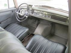 Learn more about Unusually Dry: 1966 Mercedes Benz 230 Universal on Bring a Trailer, the home of the best vintage and classic cars online. Mercedes 230, Mercedes Benz Maybach, Classic Mercedes, Mercedes Interior, Commercial Van, Classic Cars Online, Old Cars, Vintage Cars, Design Cars