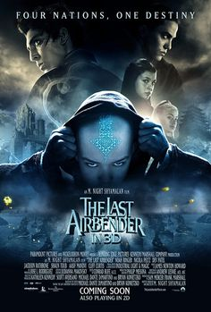 The Last Airbender final movie poster by Movie Poster Shop, via Flickr