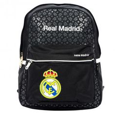 Compra Morral Casual Real Madrid-Negro online ✓ Encuentra los mejores productos Morrales y Maletas Escolares REAL MADRID en Linio Colombia ✓ Real Madrid, Under Armour, Backpacks, How To Wear, Bags, Fashion, Shopping, Suitcases, Colombia