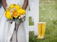 yellow bouquet- Photo courtesy of Tammy Swales Photography  www.stacykfloral.com