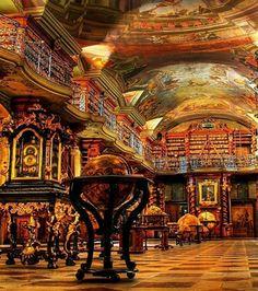 Bibliothèque Nationale de Prague (Prague, République Tchèque).