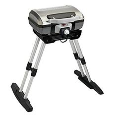 Simplify your outdoor cooking experience with this Cuisinart Portable Outdoor Electric Grill with VersaStand. Easy to install. Best Outdoor Electric Grill, Electric Grills, Best Gas Grills, Infrared Grills, Portable Grill, Cooking Temperatures, Small Patio, Charcoal Grill, Grilling