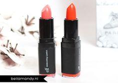 Coral Cutie (#82634) & Orange Dream (#82643) http://www.eyeslipsface.fr/produit-beaute/rouge-a-levres-hydratant-studio