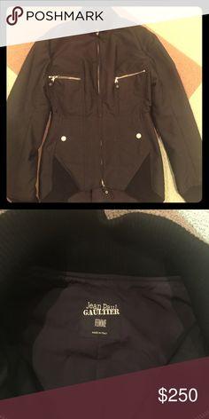 Jean paul gaultier femme jacket size 8 Great jacket. Worn twice! Jean Paul Gaultier Jackets & Coats Utility Jackets