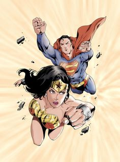 Wonder Woman & Superman ®