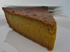 gluten free blender pumpkin pie...I would use almond milk instead of the soy milk i think
