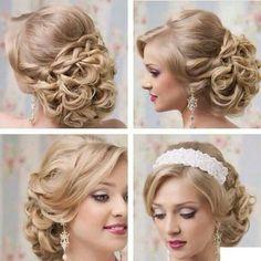 Wedding updos #absolutlybeautiful