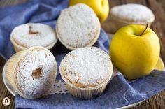 Muffin alle mele con farina di riso - Senza glutine e lattosio Muffins, Easy, Gluten Free, Cheese, Breakfast, Desserts, Food, Cupcakes, Easy Meals