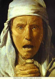 Georges de La Tour. The Quarrel of the Musicians. Detail. c.1615. Detail. c. 1615. Oil on canvas. J. Paul Getty Museum, Malibu, CA, USA