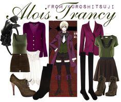 """[Kuroshitsuji II] Alois Trancy"" by chetmanly on Polyvore"