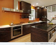 A Assortment of 15 Kitchen Paint Concepts -   #kitchen #kitchen colors #kitchen design #kitchen paint ideas - #interiordesign #home #house #housedecoration