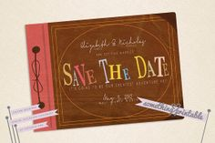 Adventure Book - Printable Adventure Inspired Save the Date Design