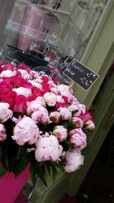 #salsburg #alsazia #france #pink #flowerpot #colors  #peonies #flowerdesign #alemeacci @alemeacci
