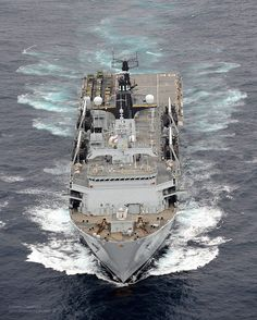 HMS Bulwark by Defence Images