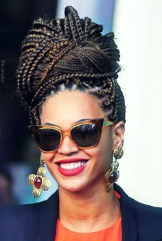 #Beyonce Getting my hair done like this in a few weeks. I didn't know the style had gotten so popular again.
