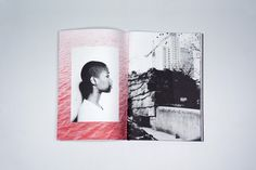 La Roue Voilée, a risograph printed photography book for David Widart.