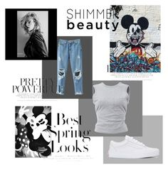 Omg. :/ by selma-masic1 on Polyvore featuring polyvore fashion style T By Alexander Wang Vans H&M clothing