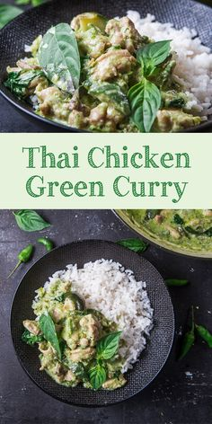 Business Cookware Ought To Be Sturdy And Sensible Chicken Green Curry Ala Thailand Is Healthy And Heart Warming Curry Dish Perfect Served On Warm Rice. Attempt This Recipe For Your Dinner Yummy Chicken Recipes, Quick Dinner Recipes, Turkey Recipes, Asian Recipes, Healthy Recipes, Asian Foods, Thai Green Curry Recipes, Green Curry Chicken, Cooking Recipes