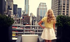 Anna James of Fash Boulevard's first guest blog for LaurenConrad.com!! One day this will be me overlooking NY!!
