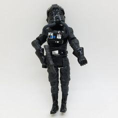 """Clone war series NEW Star Wars 10cm Action Figures 3.7"""" model Tie Fightere Pilot with weapon accessories high quality PVC #Affiliate"""