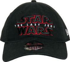 f3e2d2e4887 New Era 9Twenty Star Wars Adjustable Cap. Black with the Star Wars  The Last