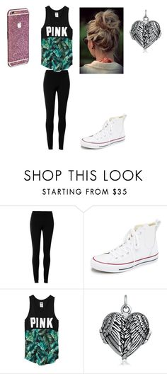 """""""dfgh"""" by zahlia-tibbs on Polyvore featuring beauty, Max Studio, Converse, Victoria's Secret and Bling Jewelry"""