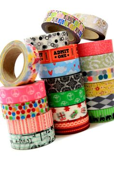 Hey, I found this really awesome Etsy listing at https://www.etsy.com/listing/158730836/choose-any-6-washi-tapes-5-off