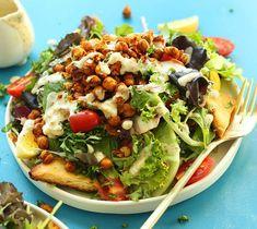 Chickpea Shawarma SaladfromMinimalist Baker