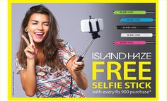 ISLAND HAZE - GET your Selfie Stick with EVERY Purchase*
